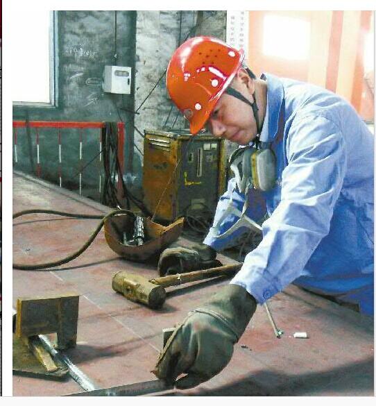 岗位之星:铜冠机械公司矿冶分厂结构件车间一班班长刘文顶